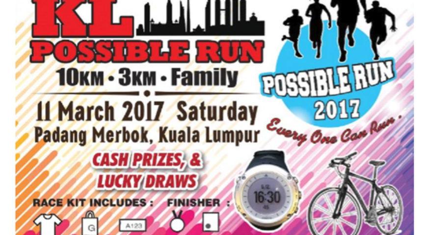 KL Possible Run 2017- Sponsorship