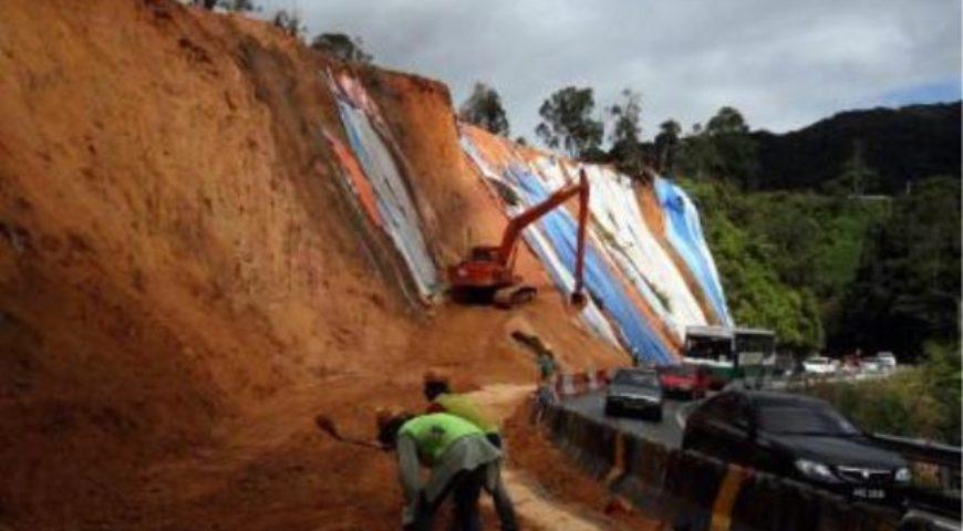 Heed landslide warning signs