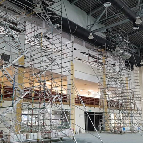 Bukit Jalil Sport Complex- Steel Structure